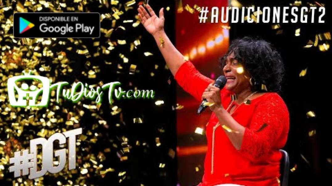 Le gana al cáncer y se gana el Golden Buzzer de nuestra host Karina | Dominicana´s Got Talent 2020