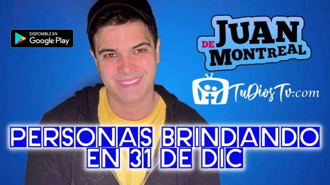 Juan De Montreal - Personas Brindando en 31 de Dic